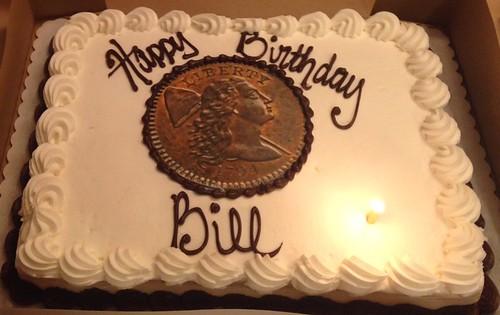 Bill Eckberg's 1794 Cent Cake