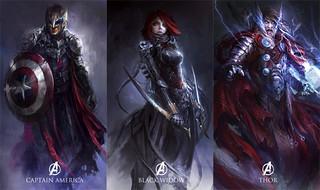 10位主角全部到齊!暗黑奇幻風格的《復仇者聯盟2:奧創紀元》