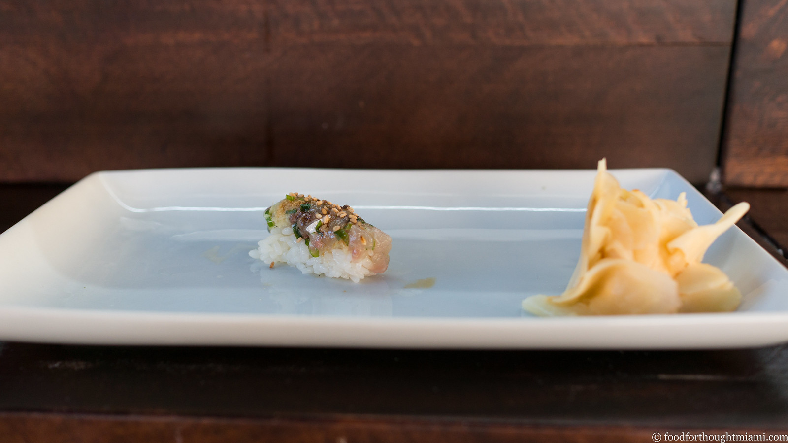food for thought | a miami food blog: first thoughts: Myumi Omakase ...