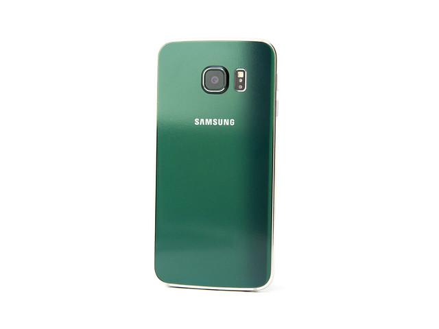 極光綠 S6 Edge 入手 + 100% 全滿版雙曲膜保護貼 + 全機包膜 @3C 達人廖阿輝
