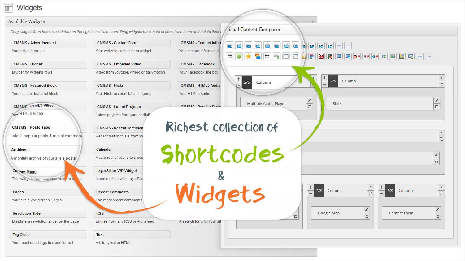 Shortcode Widget