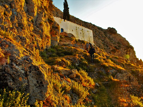 travel sunset plants church rocks hiking greece monastery kalymnos dodecanese
