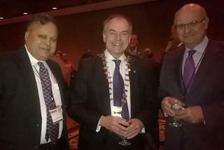 Sanjiv, Paul Brooks and David Collenette