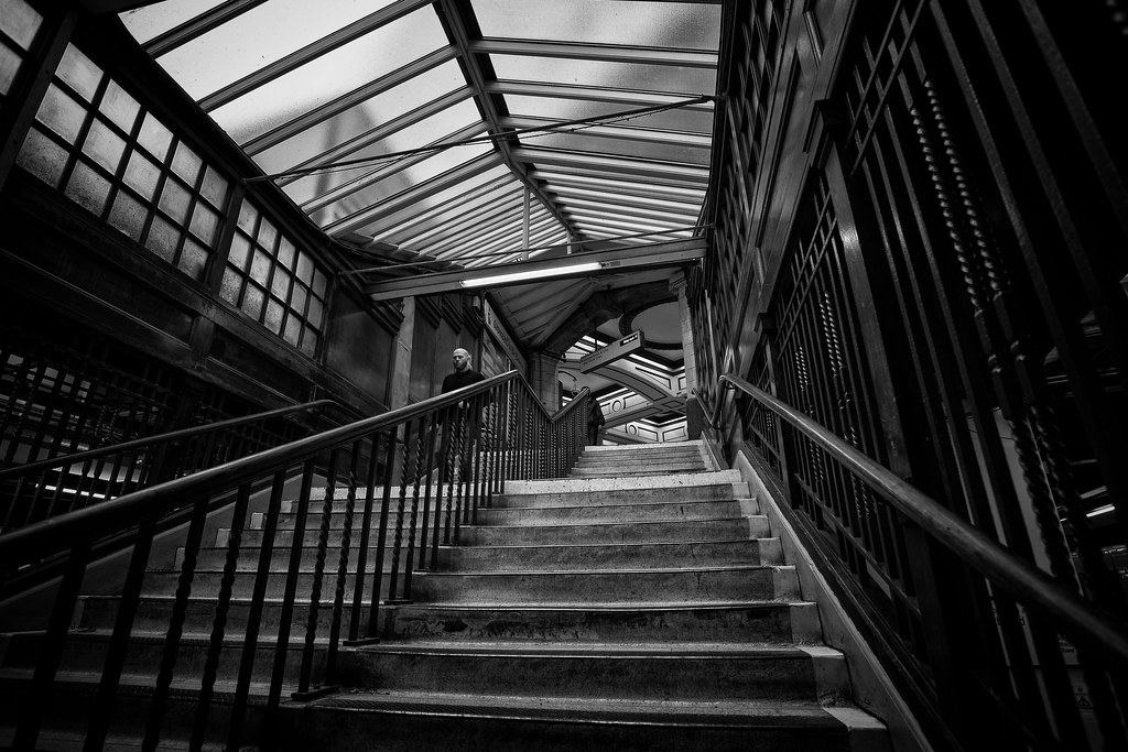 London baker Street Station Stairs