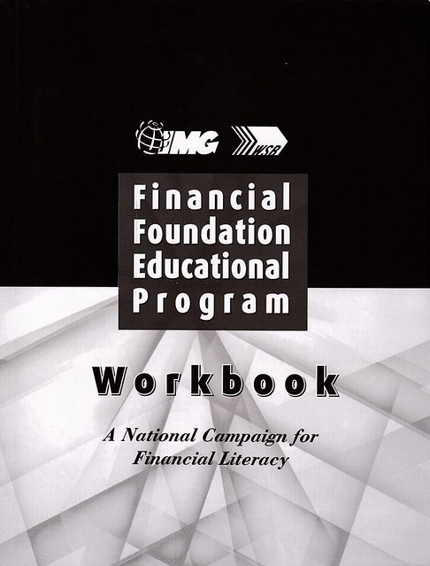 Financial Foundation Educational Program Workbook Photo