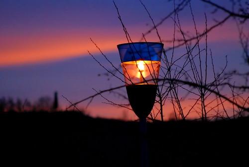sunset colors tramonto streetlamp colori