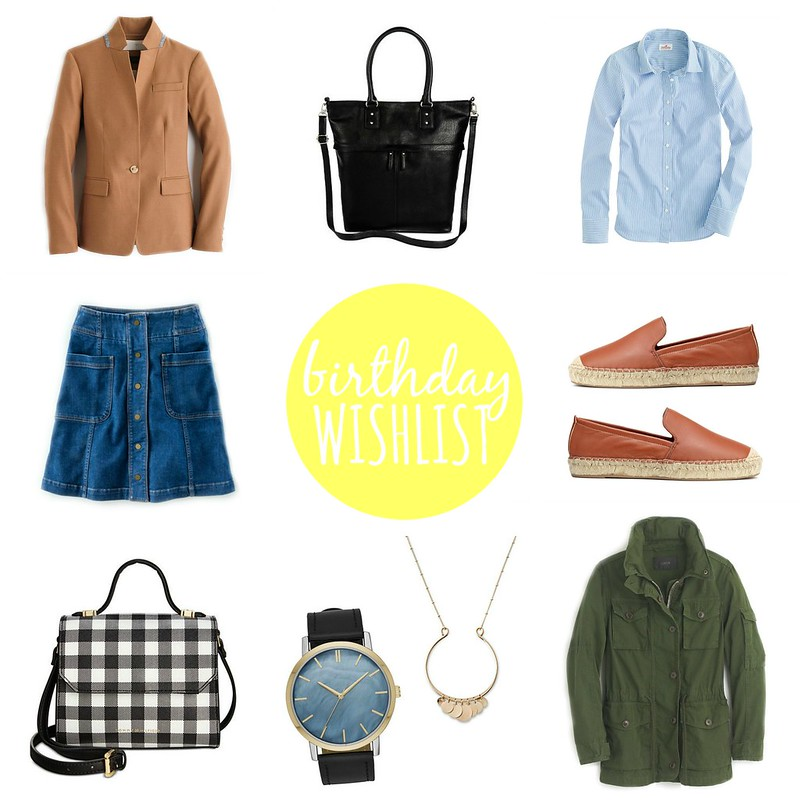 2016 birthday wishlist | Style On Target