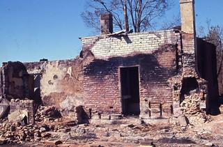Remains of the Pilgrim Inn