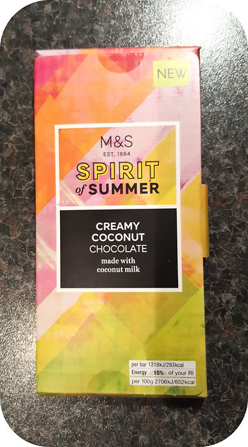 Marks & Spencer Spirit of Summer Creamy Coconut Chocolate