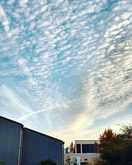 Good morning LWTech! If you are on the #Kirkland campus now, look up in the sky above the West Building. #clouds #fall4lwtech #thelwtech