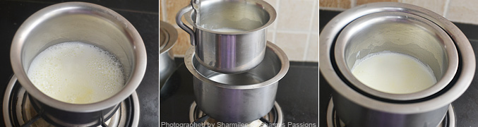 How to make south indian filter coffee - Step4