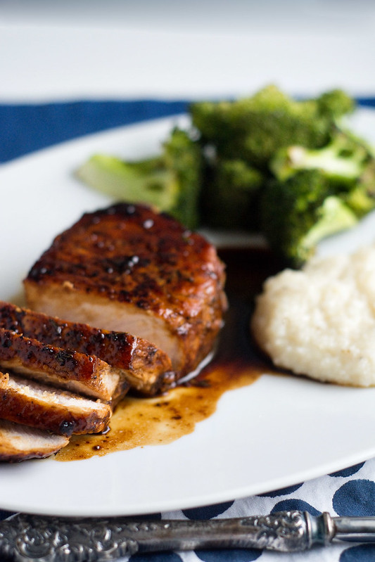 Pork Chops Agrodolce