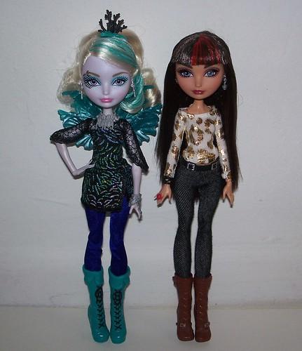 Fay and Cerise comparison