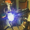 LED-converted Eveready Captain flashlight will now light the way for the #whizzer. by Dirt Nerd