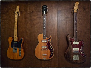 Three Woody Guitars, May 07, 2015