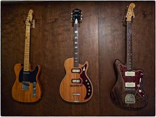 Three Woody Guitars, May 07, 2015