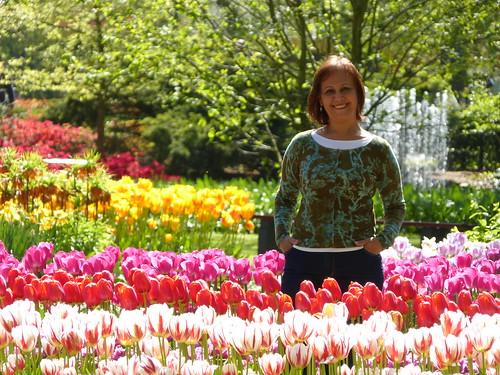 Around tulips