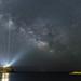 The Milky Way over the Temple of Poseidon, Sounio