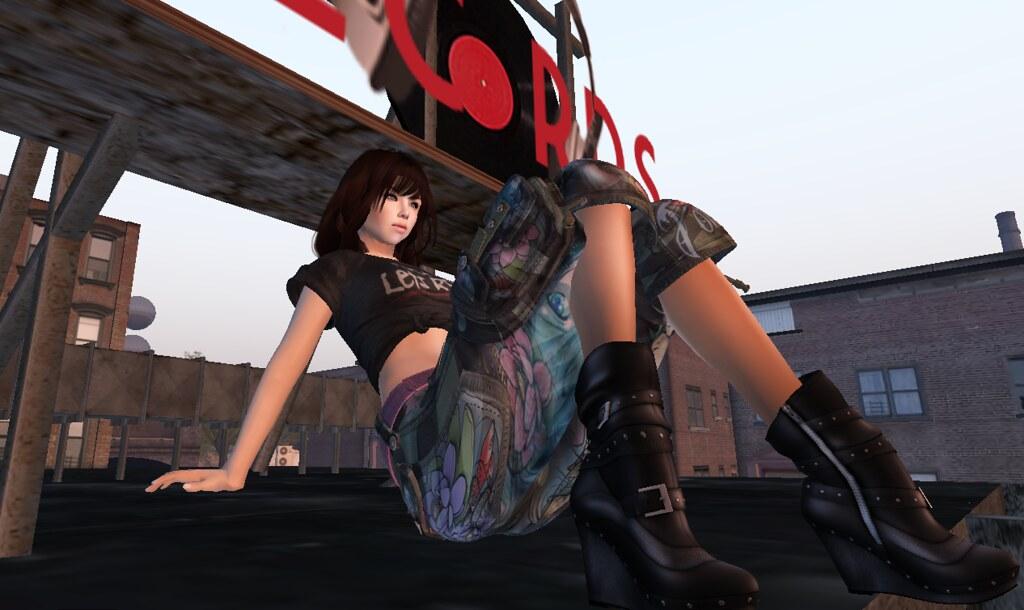 Lois Love at Rader Records