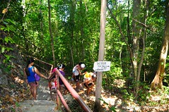 Tourists Spelunking at Tabon Caves