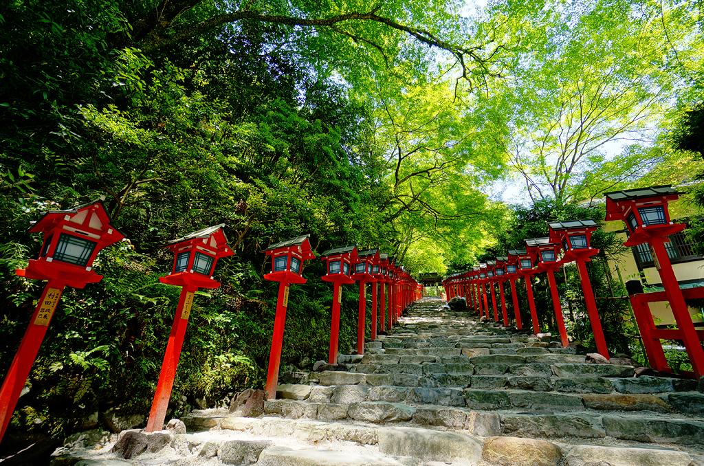 Kifune Shrine (貴船神社) in Kibune (貴船) Kyoto (京都) Japan  Flickr - Photo Sharing!