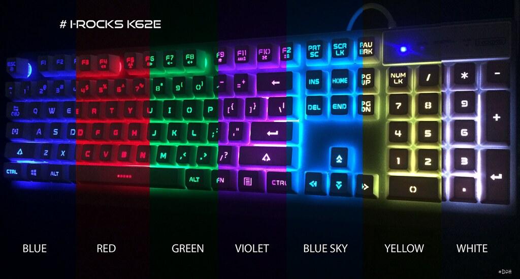Đánh giá nhanh I-Rocks K62E: Build tốt, thiết kế đẹp, giá phải chăng