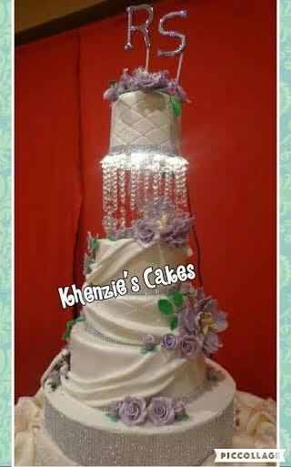 Chandelier Cake by Karen C. Alanes of Khenzie's Cakes
