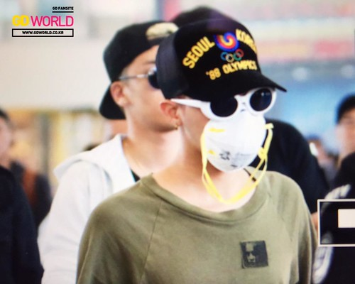 Big Bang - Hong Kong Airport - 15jun2015 - GD World - 01