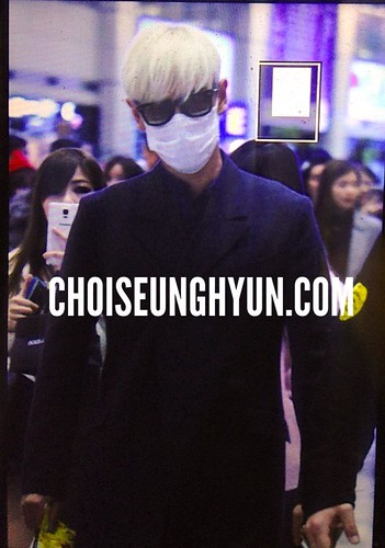 Big Bang - Incheon Airport - 31jan2015 - TOP - Choidot - 01