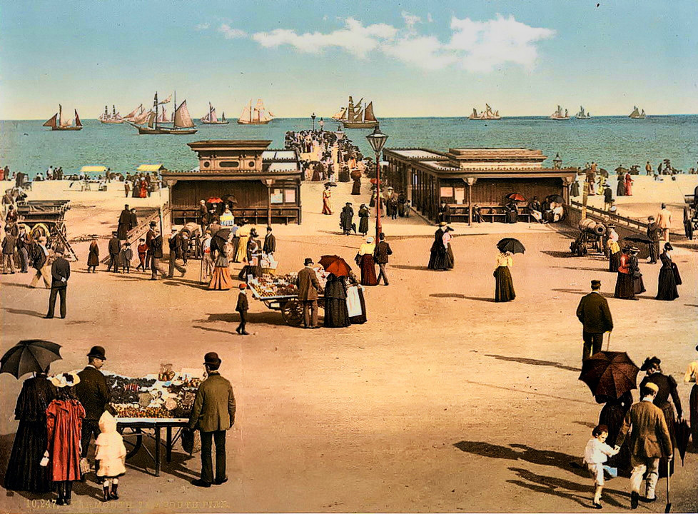 Great Yarmouth, England, c. 1895