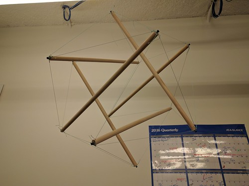 Tensegrity mobile 1