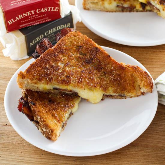 Mango Chutney and Bacon Grilled Cheese - Evil Shenanigans