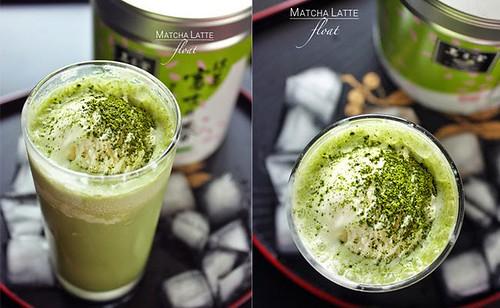 [Japanese Recipes] Matcha Latte Float