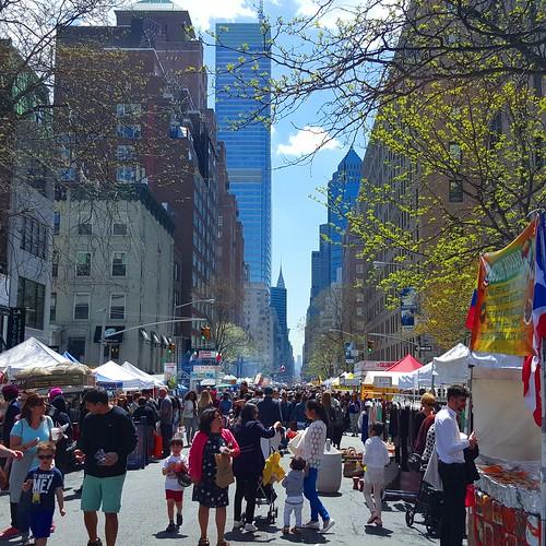 First street fair of 2015