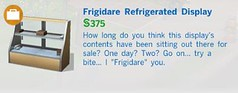 Frigidare Refridgerated Disply