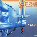 "SAXON STRONG ARM METAL, SAXON'S GREATEST HITS 12"" LP VINYL"