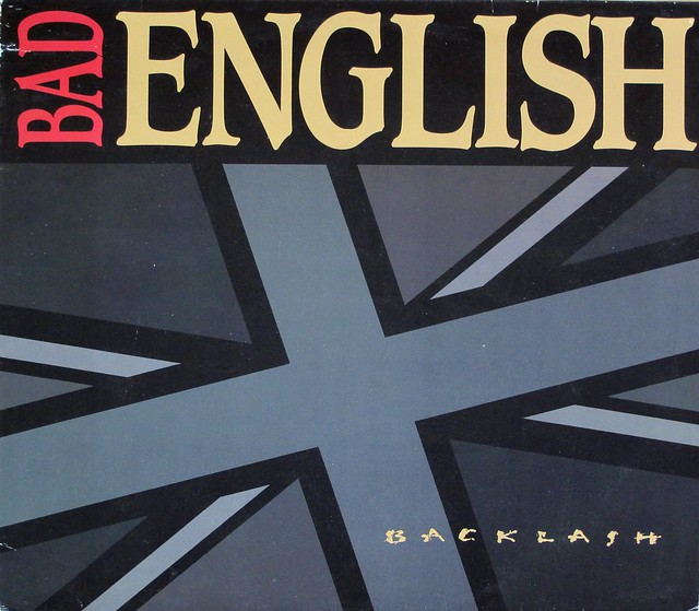 "BAD ENGLISH BACKLASH 12"" LP VINYL"
