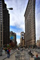New York city, Flatiron building