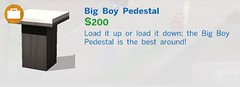 Big Boy Pedestal