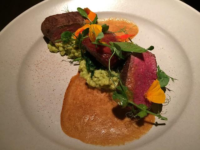 Lamb loin and belly - Aziza