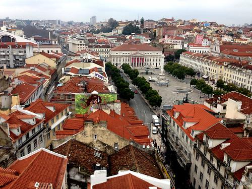 Praça Rossio. Lisbon. Portugal