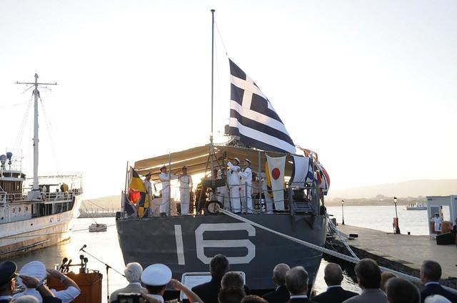 Η πολιτική και στρατιωτική ηγεσία του ΥΠΕΘΑ στις εκδηλώσεις της επετείου του Κινήματος του Ναυτικού του Μαΐου του 1973