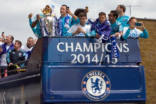 Chelsea parade 2015
