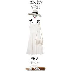 #lovesparisstudio #prettyYOU-uglySHOE @polyvore #polyvore #fashion #style #BandofOutsiders #CharlotteRusse #ProenzaSchouler #LindaFarrow #contestentry #uglyshoes