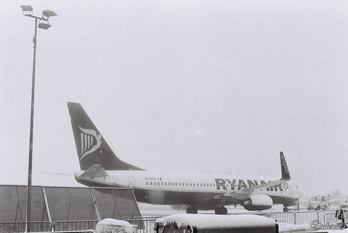 Ryanair. Frankfurt Hahn Airport. Germany