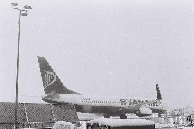 Ryanair. Frankfurt Hahn Airport. Germany