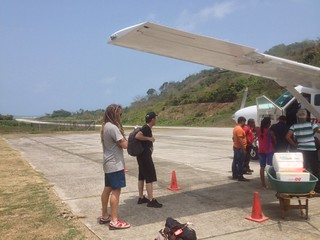 Our tiny plane from Panama City to Puerto Obaldia in the Darien