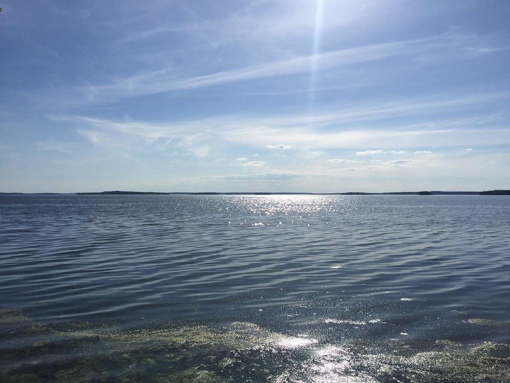 Vandring på Adelsö vid vattnet