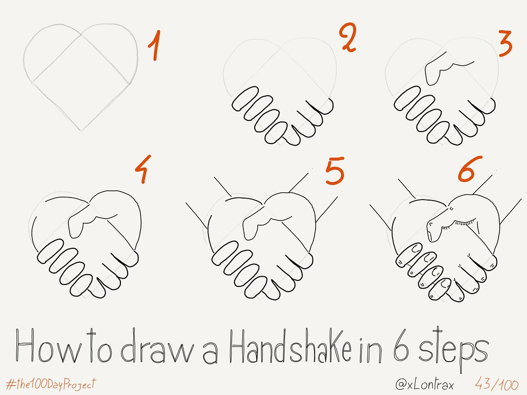 How To Draw A Handshake Mauro Toselli Flickr