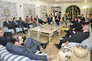 Reunião de líderes no Palácio do Jaburu